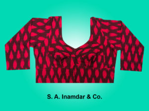 14. Ikkal Cotton- Red